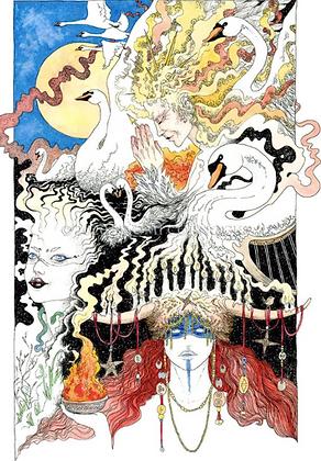 Brigid Altar Card - By NomeArt