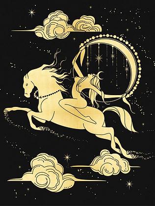 Selene - A3 Art Print