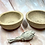 Thumbnail: Rustic Stoneware Offering Bowl