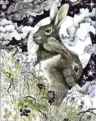 Hares - by NomeArt
