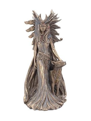Hecate Bronze Statue
