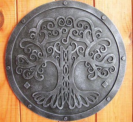 Tree of Life Viking Wall Plaque