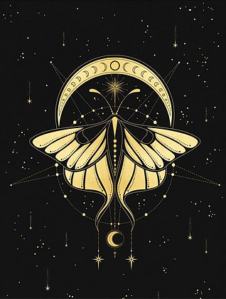Cosmic Butterfly - A3 Art Print