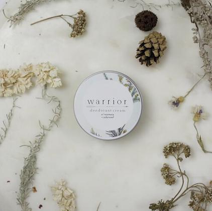 Warrior Deodorant Cream