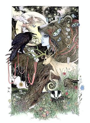 Artio - Art Print