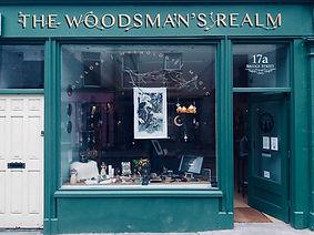 Woodsman's Realm Shop Front