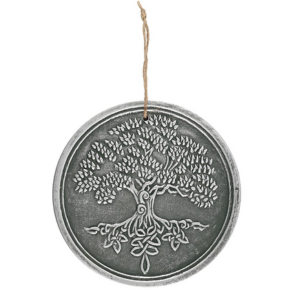 Silver Tree of Life Wall Plaque
