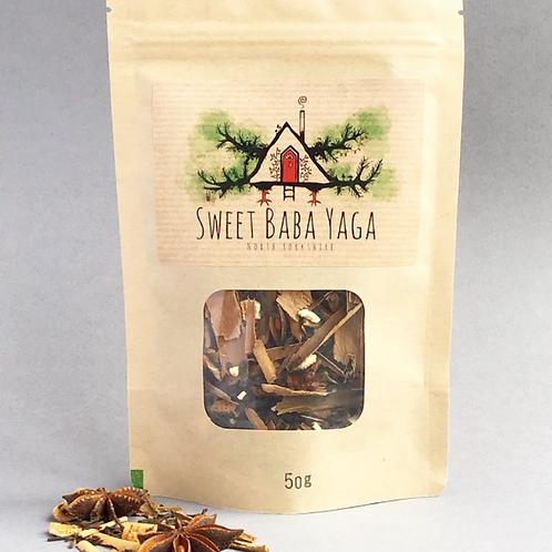 Sweet Baba Yaga Tea by Tarn + Moon