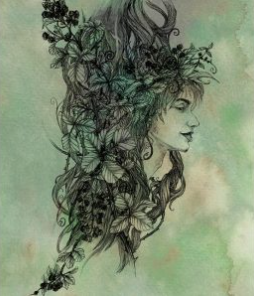 Vine Tree Spirit - Art Print
