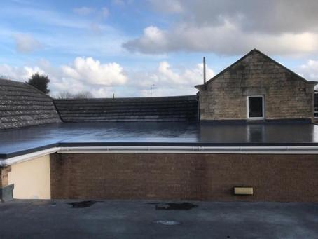 Ryhall Village Hall Gets A New Flat Roof