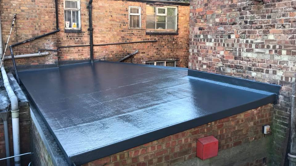 commercial flat roofing in lincolnshire