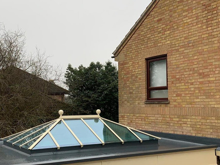 Orangery Roof Replaced