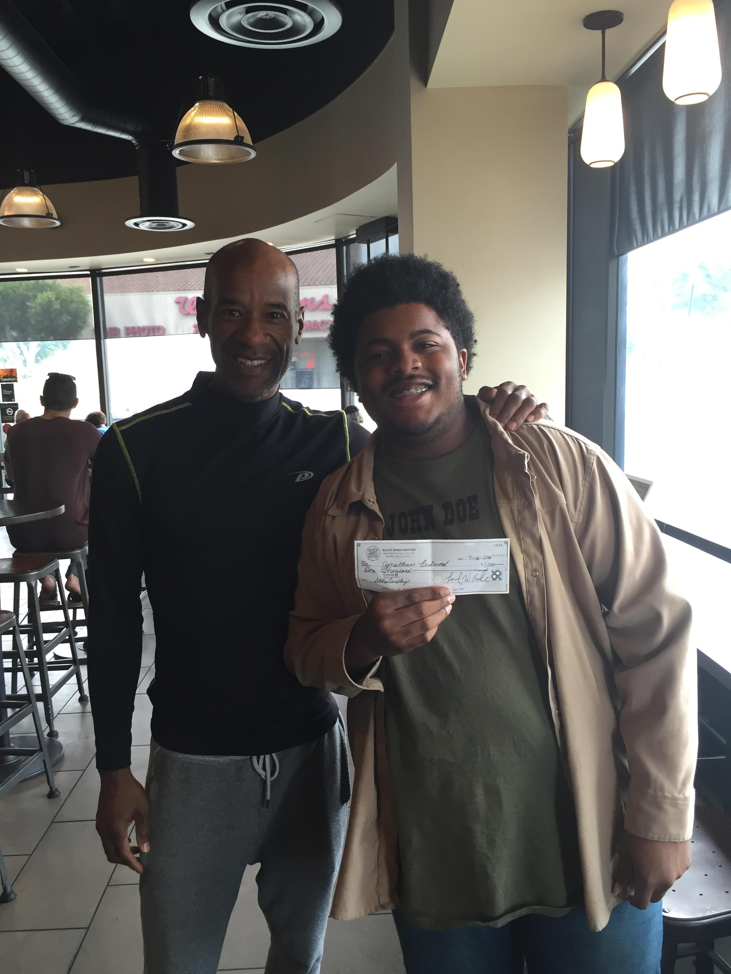 Black Minds Matter Scholarship Recipient