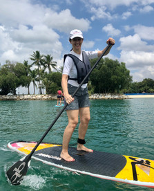 SUP = A great workout!