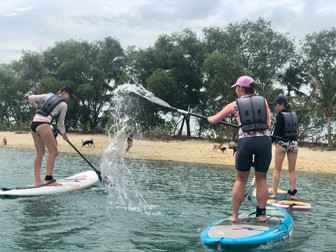 Splish splash fun in the sun!