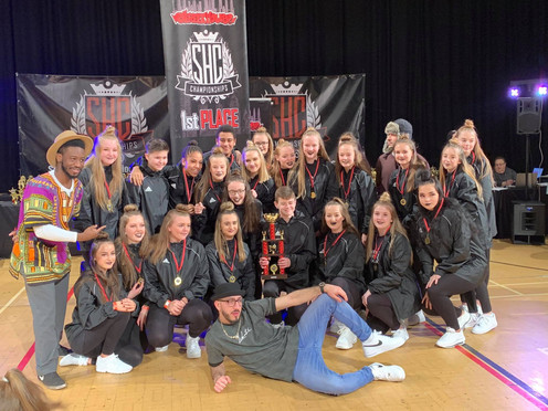Xtreme - Under 16 1st place Competition Winners