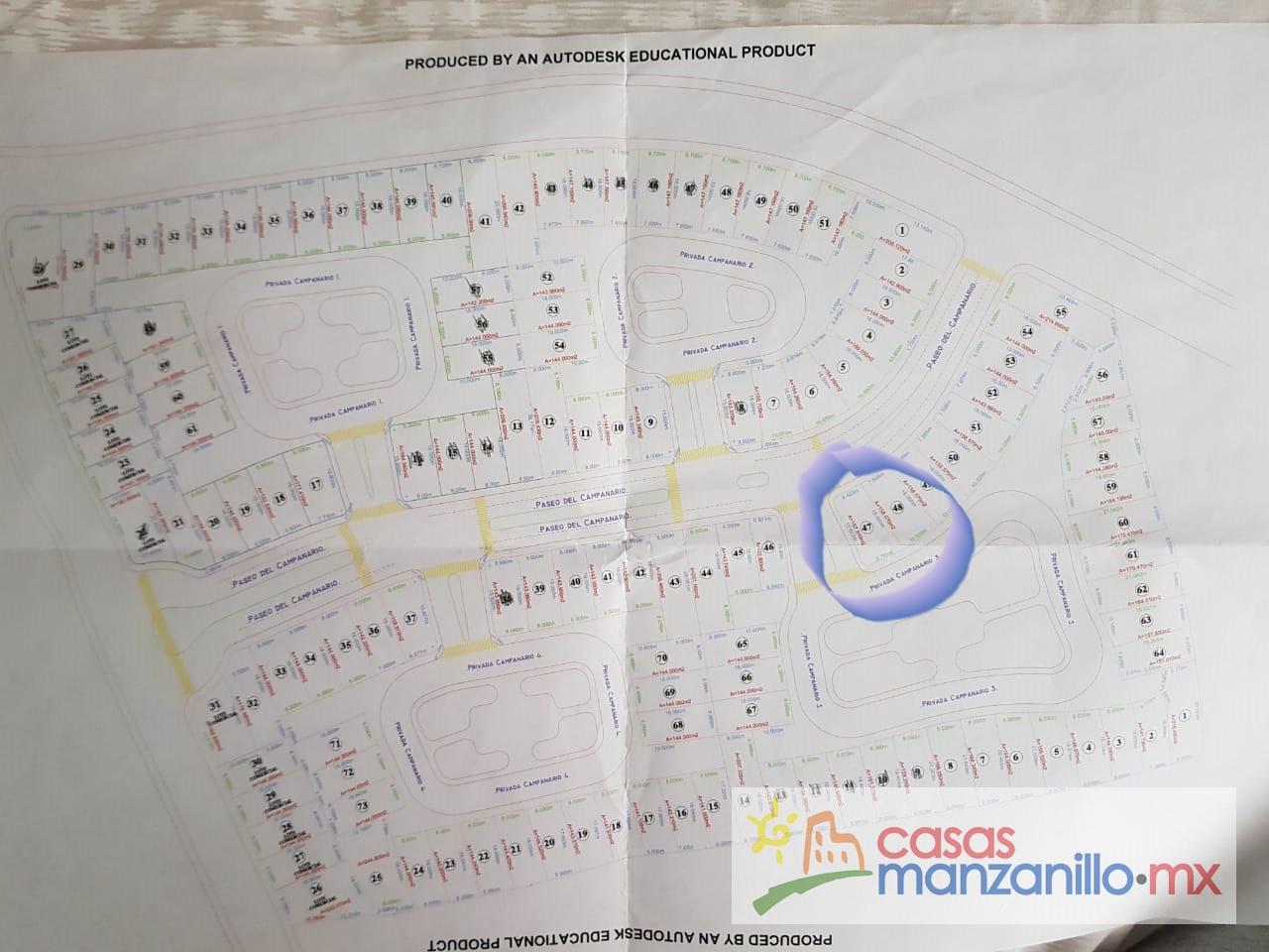 El Campanario - Terreno VENTA Manzanillo