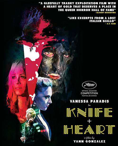 KNIFE+HEART 'De Sperme' T-Shirt + Blu-ray