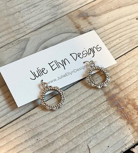 Ornate Ring Earrings