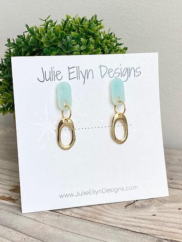Mint Julep Stud Earrings