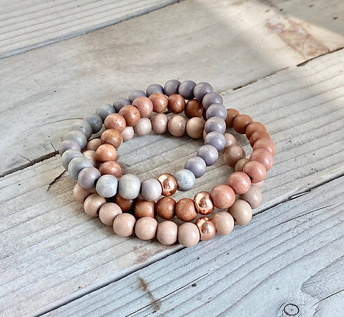 Fall Stacking Bracelets - Set 2