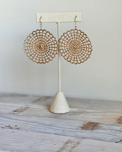 Spiderweb Lace Earrings
