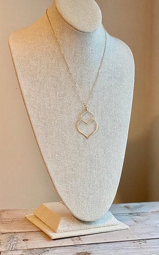 Gold Arabesque Necklace