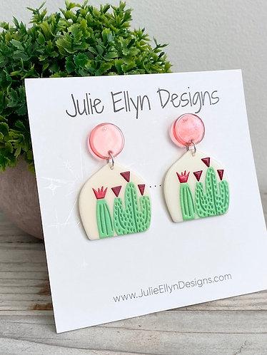 Cactus Statement Earrings