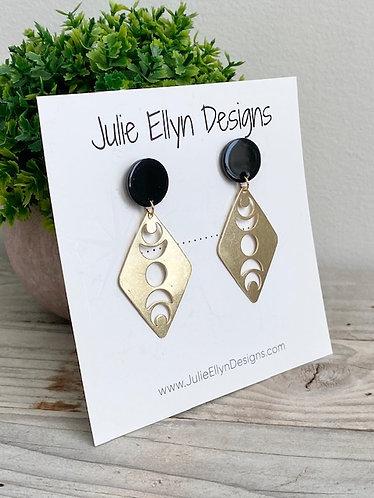 Lunar Stud Earrings
