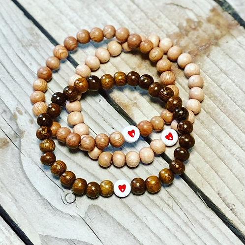 Heart Bracelet Set of three