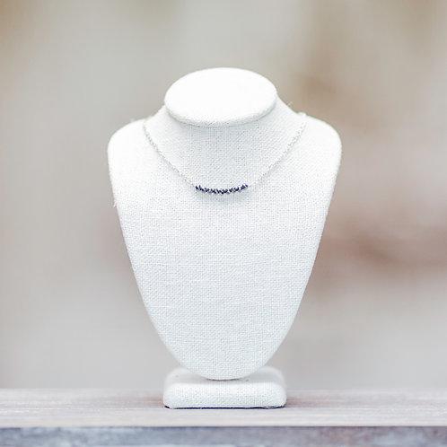 Hematite Bar Necklace