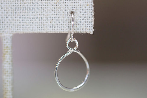 Sterling Silver Looped Into Infinity