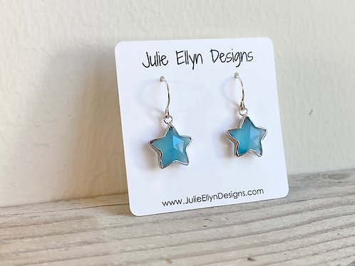 Blue Chalcedony Stars