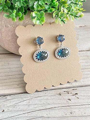 Sparkle Collection - Blue Topaz Princess