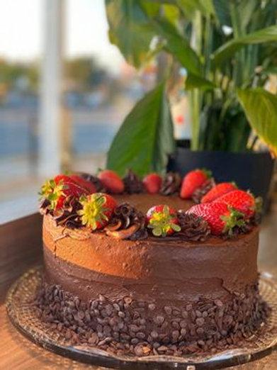 Vegan Chocolate mud cake
