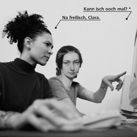 Plakat für Bildungsmarkt Sachsen