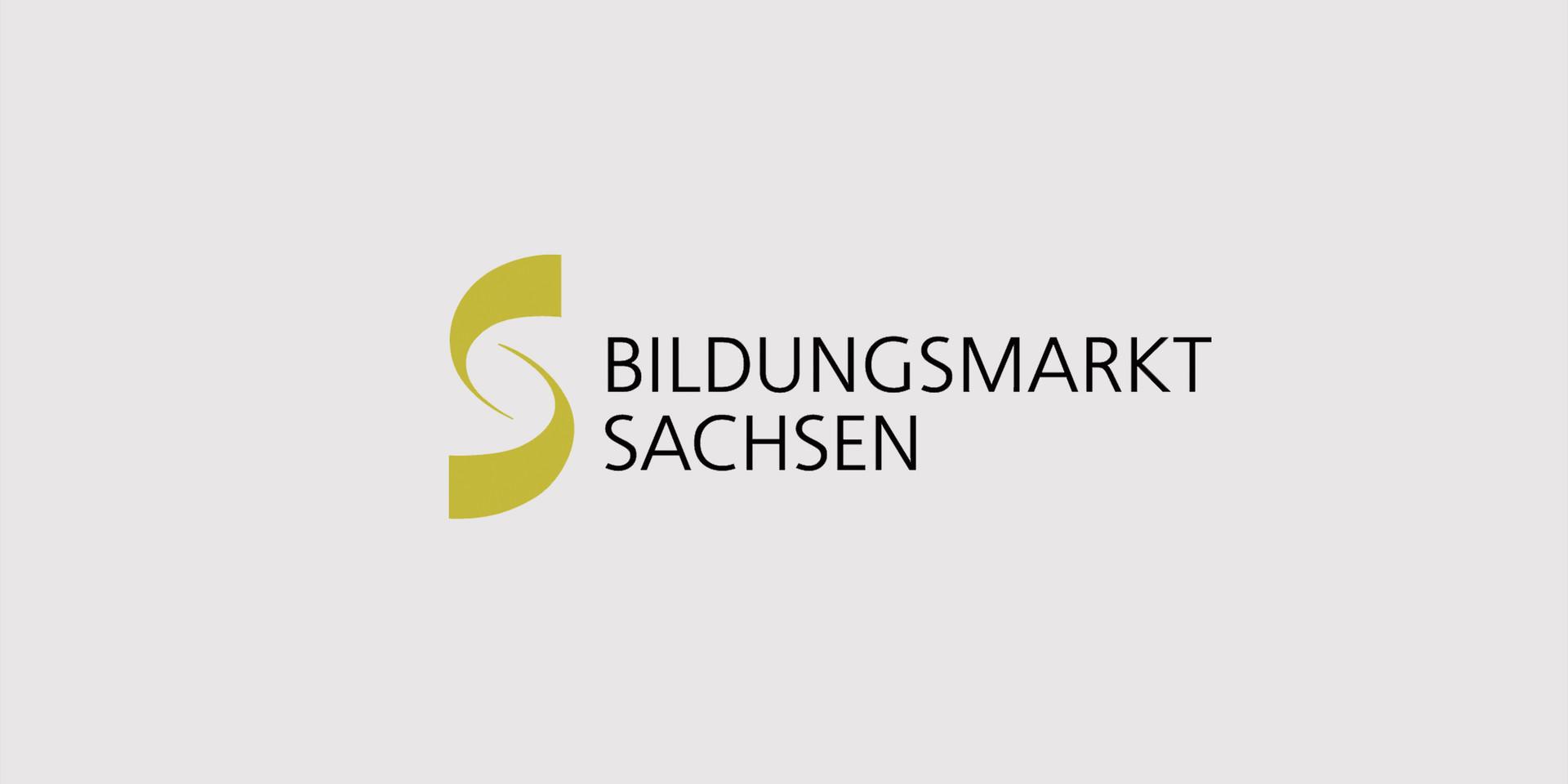 Logo Bildungsmarkt Sachsen