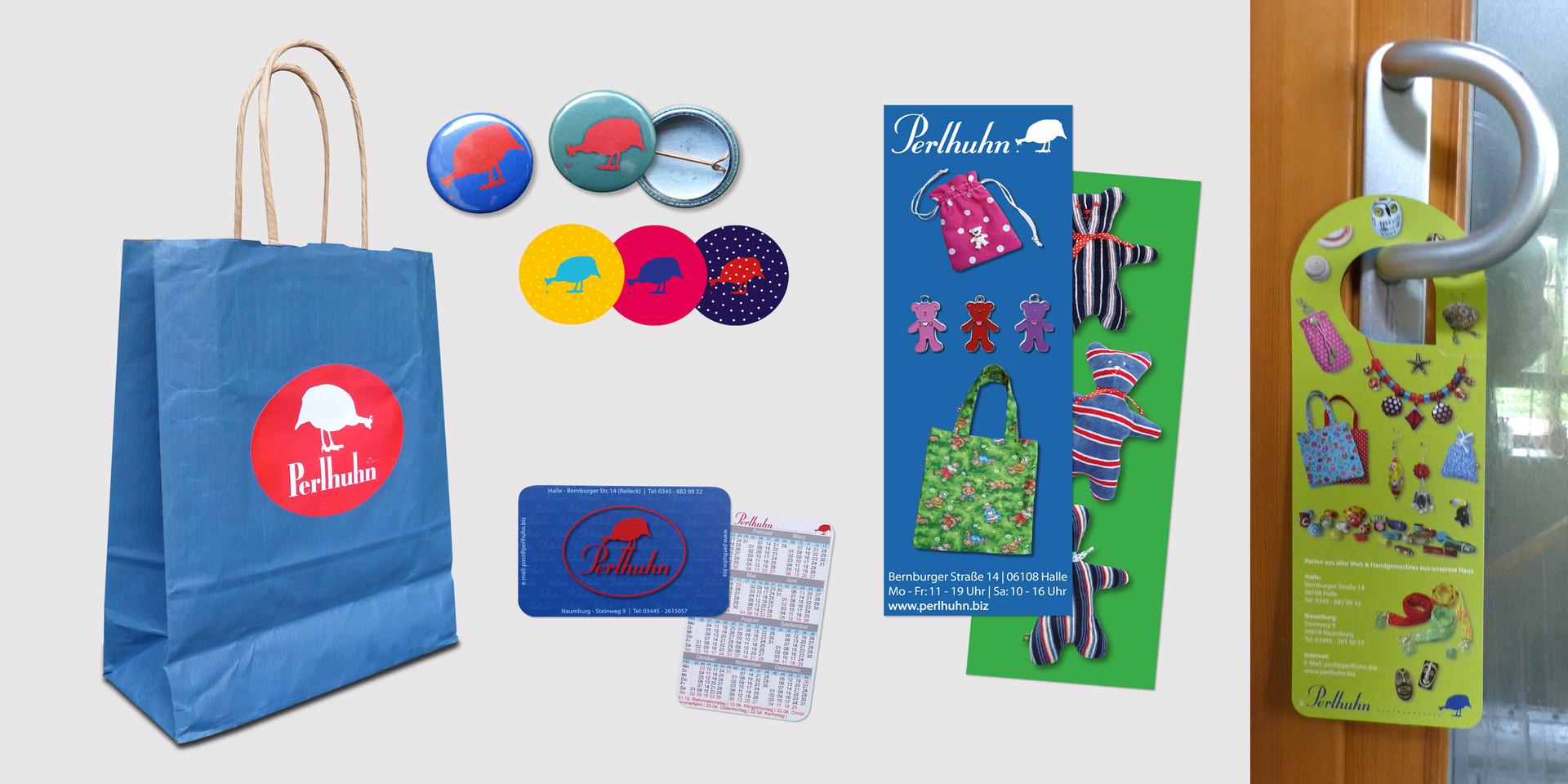 Perlhuhn Merchandise