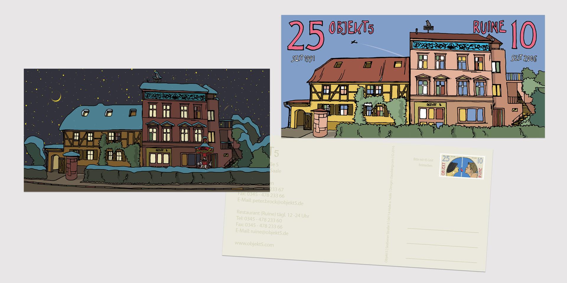 Postkarten Objekt 5