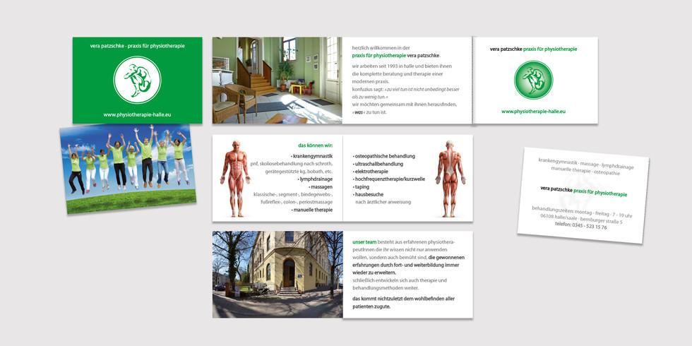 Heft Physiotherapie Vera Patzschke