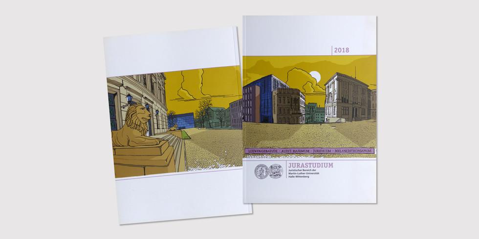 Broschure Juristische Fakultät Halle