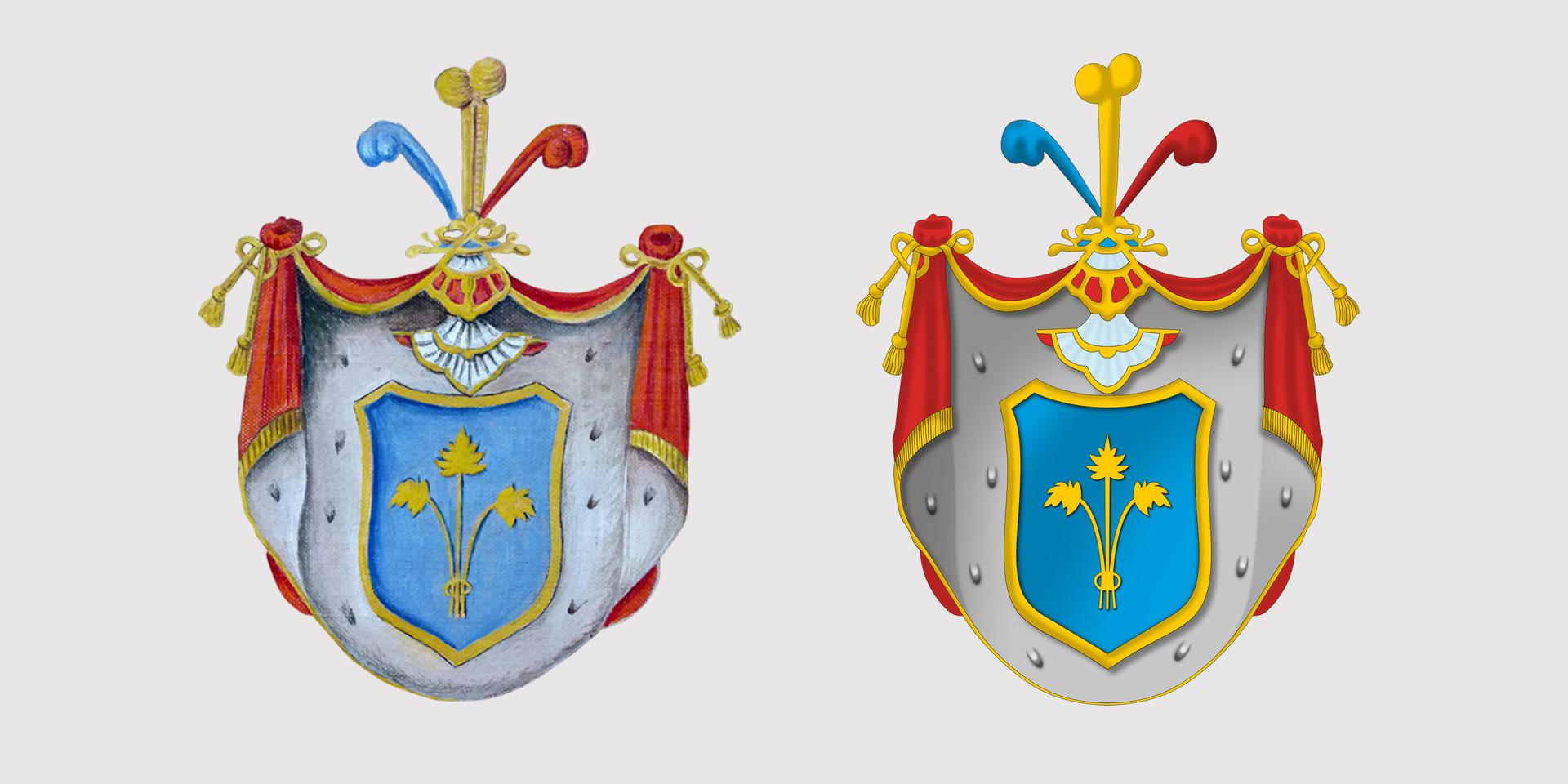 Zeichnung Wappen