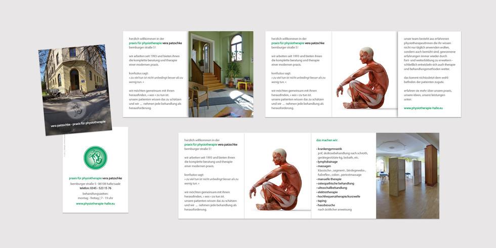 Faltblatt Physiotherapie Vera Patzschke