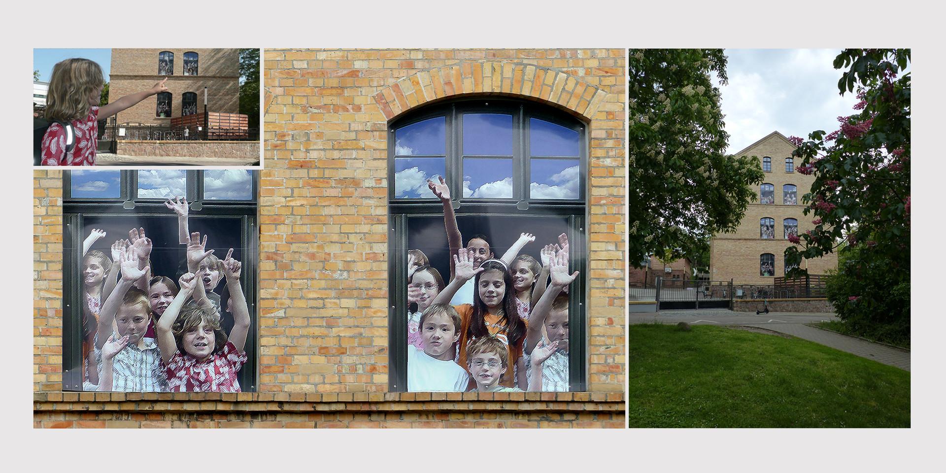 Wandgestaltung Wittekindschule