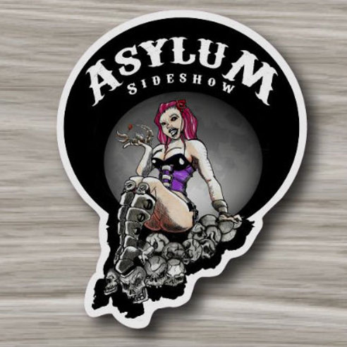 Aracnid Nymphomaniac Sticker
