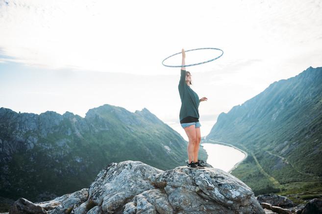 Hoop n Hike - Lofoten, Norway