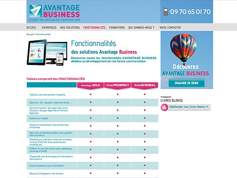 Site Avantage Business