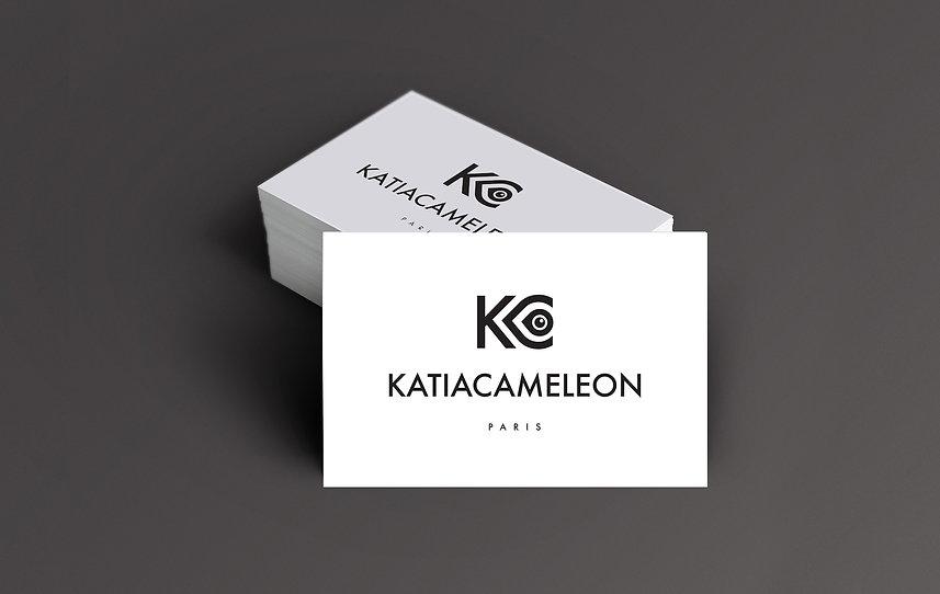 un autre regard créatif - nouveau logo Katia Caméléon