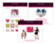 Site e-commerce pour Lolita Pillo