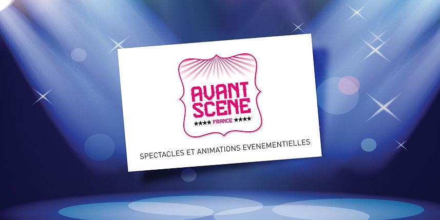 un autre regard créatif - nouveau logo Avant Scène France